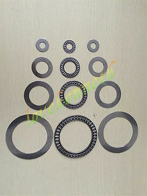 1/2/5 pc AXK Series Flat Needle Roller Thrust Bearing complete with 2 AS washers