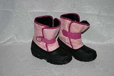 KAMIK Kids Girls Pink Snow Winter Boots Youth Shoes Size 12 US