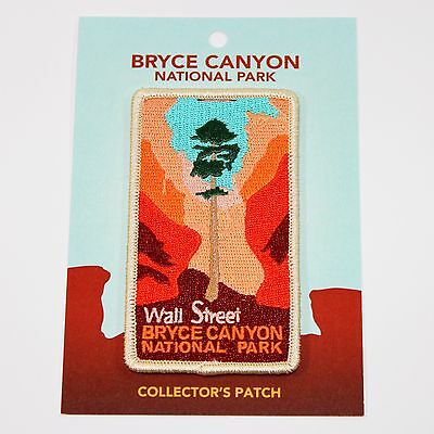 Official Bryce Canyon National Park Souvenir Patch Wall Street Douglas Fir Utah