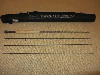 Shakespeare Agility Rise Fly Rod 8ft #4 Weight
