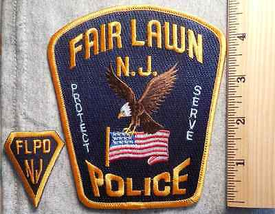 Fair Lawn New Jersey Police Patch (Highway Patrol, Sheriff, Ems)