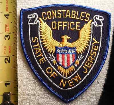 State Of New Jersey Constables Office Patch (Highway Patrol, Sheriff, State)