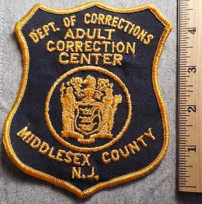 Middlesex County New Jersey Adult Correction Center Patch (Highway Patrol)