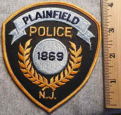 Plainfield New Jersey Police Patch (Highway Patrol, Sheriff, State)