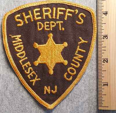 Middlesex County New Jersey Sheriff Patch (Highway Patrol, Sheriff, State)