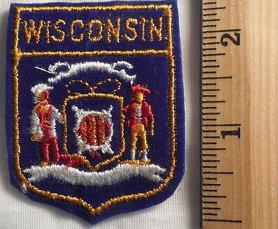 Wisconsin State Patch (State, Souvenir)