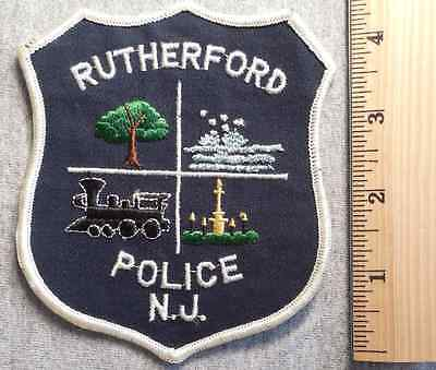 Rutherford New Jersey Police Patch (Highway Patrol, Sheriff, State)