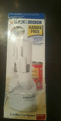 Black & Decker KEC300 Cordless Hands Free Can Opener, Discontinued GREAT GIFT