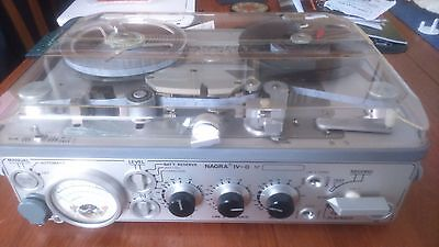 Nagra 1V-D vintage reel to reel field recorder excellent condition all working.