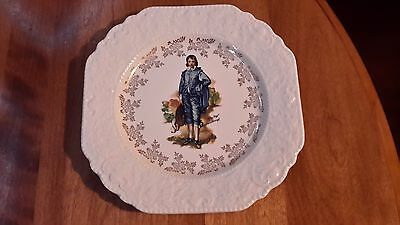 Lord Nelson Pottery England Collector Plate Blue Boy 8 3/8 Inches
