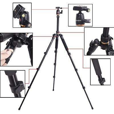 NEW Beike BK-555 Changeable Tripod for SLR Camera Ball Head Portable Travel L1C9
