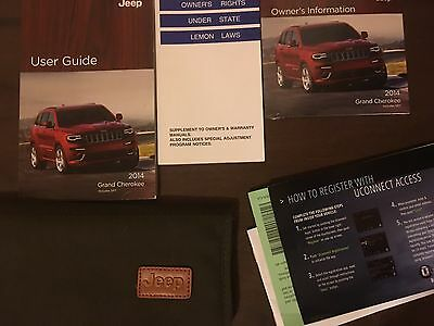 2014 Jeep Grand Cherokee Owners Manual / Users Guide