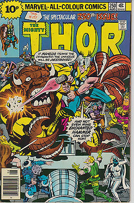 Thor 250 - 1976 - Kirby cover - Very Fine