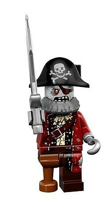 Lego ZOMBIE PIRATE Minifigure Series 14 - 71010 NEW Collectible Figure
