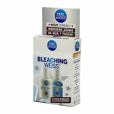 PERLWEISS Bleaching Weiss Hollywood  2x 10ml