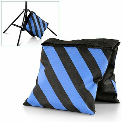 Neewer Set of 2 Black/Blue Heavy Duty Sand Bag for Light Stands ND#17
