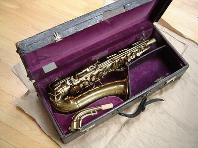 A Beautiful Sax : 1930s C. G. Conn Transitional Alto Saxophone - For England
