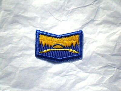 Girl Guide EXPLORING MY HORIZONS Badge Patch Crest Guides Scouts Discontinued