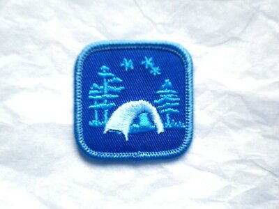 Girl Guide ADVANCED Badge Patch Crest Guides Scouts Discontinued Campfire New