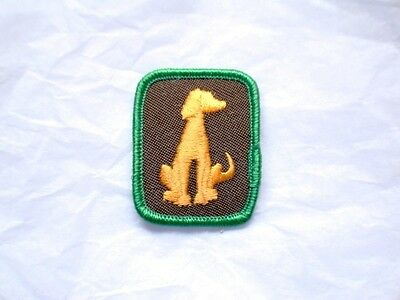 Brownies PETS - PET LOVER Badge Patch Crest Girl Guides Scouts Discontinued