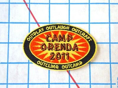 Badge Patch Crest OUTPLAY OUTLAUGH OUTCRAFT OUTCLIMB OUTCAMP Girl Guides Scouts