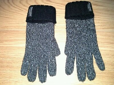 Childs Thinsulate navy gloves, excellent condition