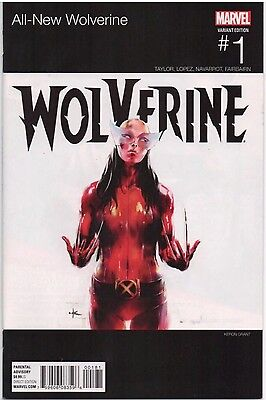All-New Wolverine #1 (2016) Hip Hop Variant X-23 1st App Of New Wolverine NM