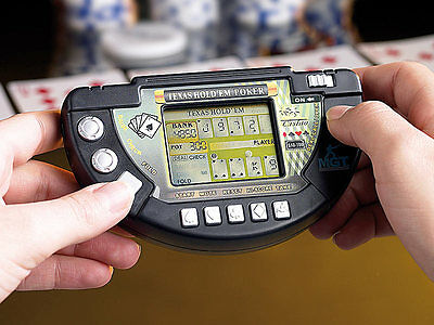 Videogioco Video Games POKER LCD TEXAS HOLD' EM Gioco Mobile Display LCD Giocare