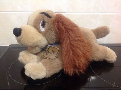 """disney lady and the tramp """"Lady"""" soft toy"""