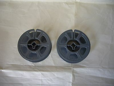 Lot of 2 Vintage 16mm Film Reels, 3 Inch reels