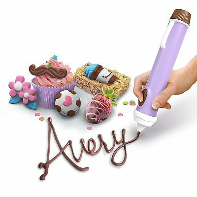 Cake Decorating Pen Topper Kit Supplies Chocolate Icing Pencil Write Drawing Bag