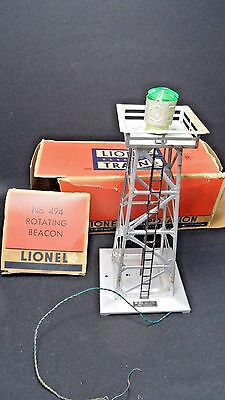 Vintage Lionel Train Rotating Beacon #494 with original box