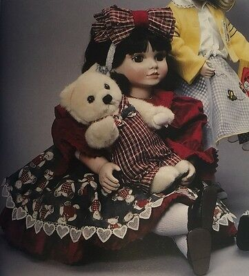 Marie Osmond Angelica I Love You Beary Much Tiny Tot Porcelain Doll New In Box!