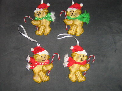 Teddy Bear Christmas Ornaments (4).