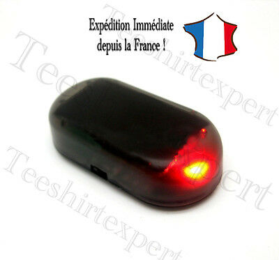 Led de dissuasion antivol garage jardin cloture anti vol voiture fausse alarme