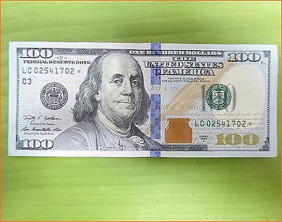 $100 Dollar Bill * STAR NOTE * 2009 PHILADELPHIA. FAST SHIPPING