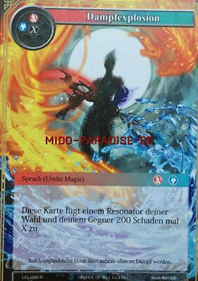 Force of Will: Dampfexplosion - LEL-088 - Rare