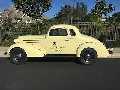 1936 Chevrolet Other Coupe 1936 Chevrolet 5 Window Coupe 6 Cyl Hotrod Vinyl letters to be removed by seller