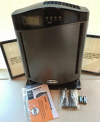 Oreck HEPA Air Purifier with 3 HEPA Air Filters - Model AIRHGQ - New!