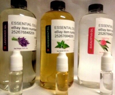 100% Natural & Pure Concentrated Essential Oils 10ml Skin,Hair & Aromatherapy.