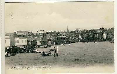 N 119 Rare Ll Postcard Of Ryde From The Pier,isle Of Wight,1905, Ll 4.