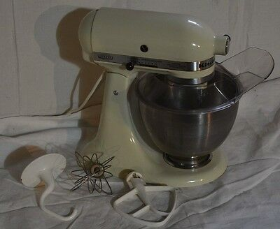 Vintage Hobart KitchenAid K-45 Counter Top Stand Mixer w/ Attachments READY!