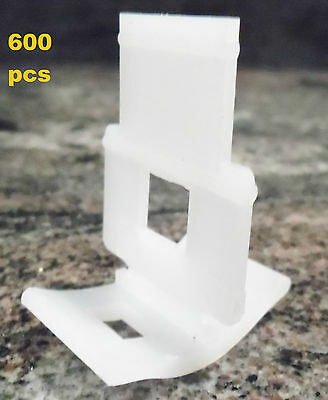 Tile Leveling System 600 clips only, for tile levelling spacer Floors Wall