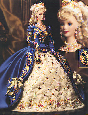 1997 NRFB Fabergé™ Porcelain Imperial Elegance™ Barbie® Doll Limited Edition