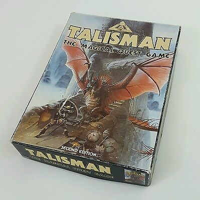 Talisman The Magical Quest + expansion set 2nd edition Games Workshop boxed 1985