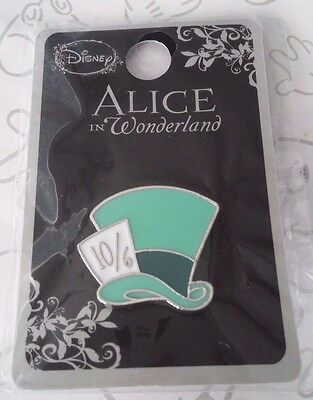 Mad Hatter Top Hat Alice in Wonderland Hot Topic Loungefly Disney Pin
