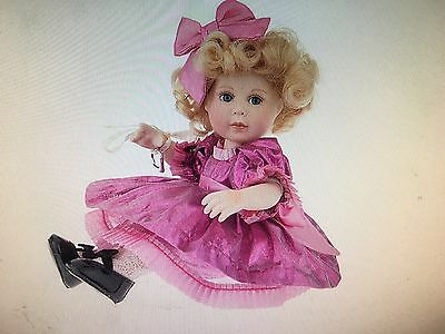 Marie Osmond Lame Tiny Tot Porcelain Doll New In Box!