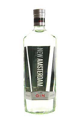 Empty Bottle Elegant New Amsterdam Gin Glass Drink Alcohol 750 ML  CAP High