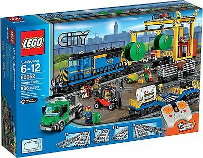LEGO City 60052 - Cargo Train * NEW & SEALED * BUBBLE WRAPPED PARCEL FORCE 48HRS