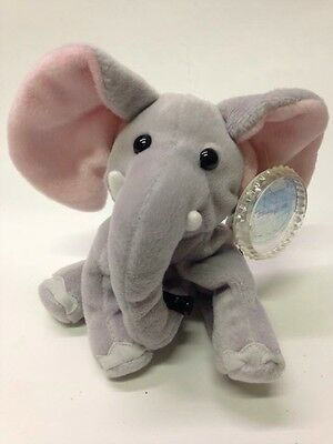 "Coca Cola Kenya Elephant Plush 6"" Stuffed Animal Coke Beanie Africa NEW"
